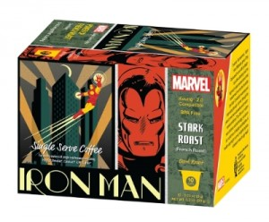 White Coffee Introduces Marvel Comics Coffees for Adult Fans