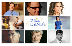 Eight New Disney Legends to Be Honored During D23 EXPO 2015 in Anaheim