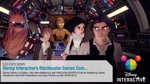 Disney Interactive Brings Blockbuster Star Wars™ and Disney Video Games to D23 EXPO 2015