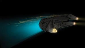 Merchoid reveals stunning new Star Wars Millennium Falcon 3D Wall Light