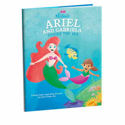 The newest title features Disney's The Little Mermaid and is called Ariel and (Child's name) Under the Sea