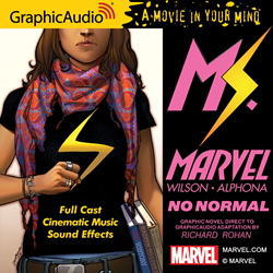 Marvel Comics' own Ms. Marvel Coming to GraphicAudio