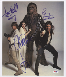Autographed Star Wars Cast Photo To Be Given Away By PSA At ComicCon