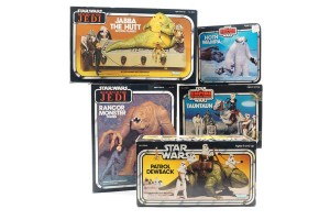 A look back at some of the classic Star Wars Toys of 1977-1983