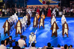 Star Wars The Force Parade Invades Shanghai