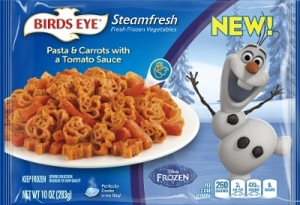 Birds Eye Vegetables Launches New Products Featuring Disney Characters, Just in Time for October's National Family Health Month