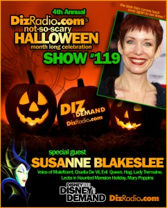 Show #119 w/ Special Guest Susanne Blakeslee to kick off our 4th Annual Not-So-Scary Halloween Celebration