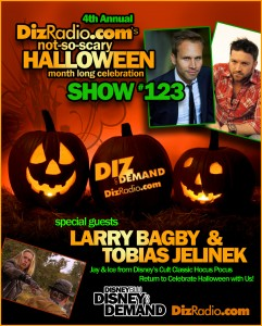 DisneyBlu's Disney on Demand Podcast Show #123 w/ Special Halloween Guests LARRY BAGBY & TOBIAS JELINEK (Jay and Ice from Disney's Classic Hocus Pocus) on DizRadio.com