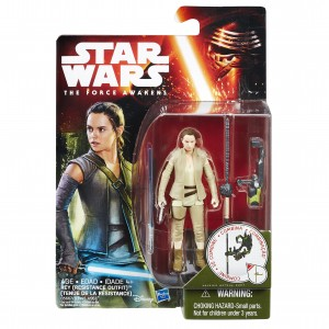 Star Wars: The Force Awakens 3.75-Inch Rey Figure by Hasbro