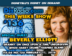 DisneyBlu's Disney on Demand Podcast Show #136 w/ Special Guest BEVERLY ELLIOTT