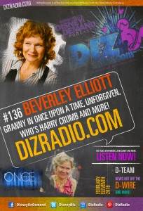 DisneyBlu's Disney on Demand Podcast Show #136 w/ Special Guest BEVERLY ELLIOTT (Granny on Once Upon a Time, Who's Harry Crumb, Unforgiven, Harper's Island) on DizRadio.com