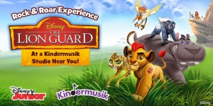 "Kindermusik and Disney Junior Team up to Create Harmonious Program: Rock & Roar to ""The Lion Guard"" Music"