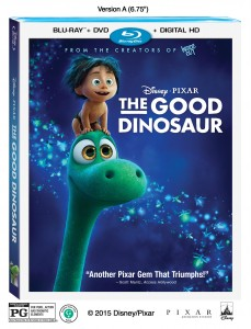 The Good Dinosaur on Disney Blu-Ray and Digital HD
