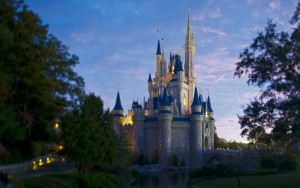 The Magic Kingdom in Central Florida