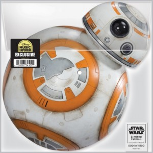 Star Wars: The Force Awakens Picture Disc Vinyl image.