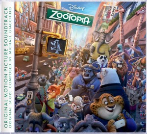Walt Disney Records Releases Zootopia Original Motion Picture Soundtrack
