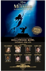 Sara Bareilles And Rebel Wilson Lead All-Star Cast In Disney's The Little Mermaid Live In Concert At The Hollywood Bowl Along John Stamos and others!