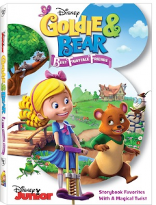 Goldie & Bear: Best Fairytale Friends on DVD April 19th!
