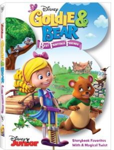 Goldie & Bear: Best Fairytale Friends on DVD April 19th!