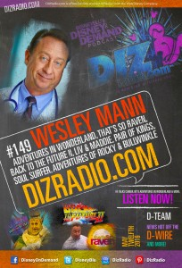 DisneyBlu's Disney on Demand Podcast Show #149 w/ Special Guest WESLEY MANN (Adventures in Wonderland, Back to the Future II, That's So Raven, Liv & Maddie, Pair of Kings and more)