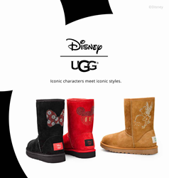 Footwear etc. Announces the Arrival of the Official UGG Disney Collection