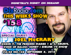 JOEL McCRARY (Voice of Baloo, Disney XD's Kickin' It, The Princess Diaries 1 & 2)