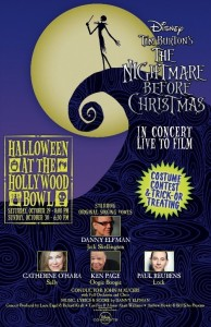 Back By Popular Demand Halloween At The Hollywood Bowl: 'DISNEY IN CONCERT TIM BURTON'S THE NIGHTMARE BEFORE CHRISTMAS'