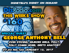 GEORGE ANTHONY BELL (Even Stevens, Gilmore Girls, Polly, Polly Comin' Home, Grey's Anatomy) on DizRadio.com
