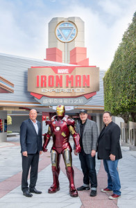 Iron Man Experience, Disney Parks' First-Ever Marvel-Themed Ride, Opens at Hong Kong Disneyland Today!