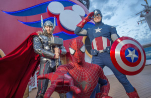 Disney Cruise Line Expands Marvel Day at Sea to Select Disney Magic Sailings from Miami in 2018