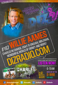 #167 w/ Special Guest WILLIE AAMES (Charles in Charge, Eight is Enough, Wonderful World of Disney, Bibleman, Runaway on the Rogue River)