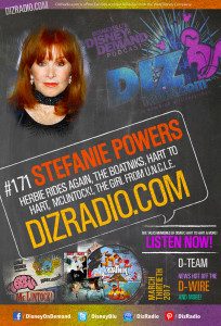 #171 w/ Special Guest STEFANIE POWERS (Herbie Rides Again, The Boatniks, Hart to Hart, McLintock!)