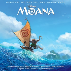 Moana is in the Top Billboard Charts