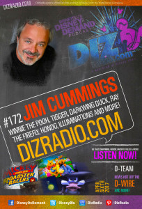 #172 w/ Special Guest JIM CUMMINGS (Winnie the Pooh, Tigger, Ray the Firefly, Darkwing Duck, Hondo, Pete and more!)