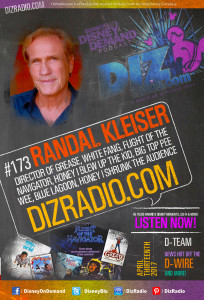 RANDAL KLEISER (Director of Grease, White Fang, Honey I Blew Up the Kid, Flight of the Navigator, Big Top Pee Wee, Blue Lagoon and more)