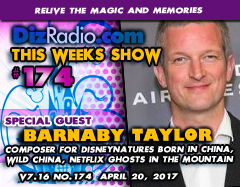#174 w/ Special Guest BARNABY TAYLOR (Composer for Disneynature's Born in China)