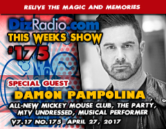 Damon Pampolina of the All-New Mickey Mouse Club, The Party