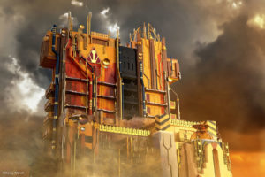 Debuting May 27, 2017, Guardians of the Galaxy–Mission: BREAKOUT! (Artist Concept/Disneyland Resort)