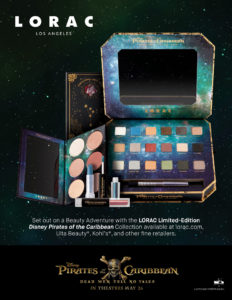 LORAC Los Angeles Introduces a Limited-Edition Pirates of the Caribbean: Dead Men Tell No Tales Collection