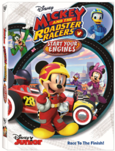 'Mickey and the Roadster Racers: Start Your Engines' Zooms on to DVD August 15th