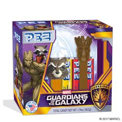 PEZ Candy, Inc. creates Guardians of the Galaxy Dispensers
