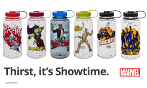 Nalgene Outdoor Unveils New Marvel® Universe-Inspired Bottles for the Guardians of the Galaxy