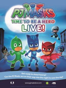 'PJ Masks Live! Time To Be A Hero' To Hit The Road