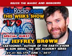DisneyBlu's DizRadio: Disney on Demand Podcast Show #179 w/ Special Guest JEFFREY BROWN