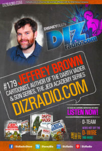 JEFFREY BROWN (Author, Cartoonist of The Darth Vader and Son Series, The Jedi Academy Series and more)