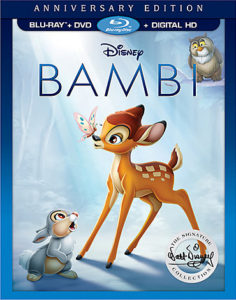 Disney's Bambi Is Out On Blu-Ray Today, Catch These Special Behind-The-Scenes Videos