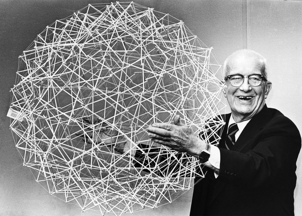 Happy 122nd Birthday to Buckminster Fuller, the Creator of the Geodesic Dome