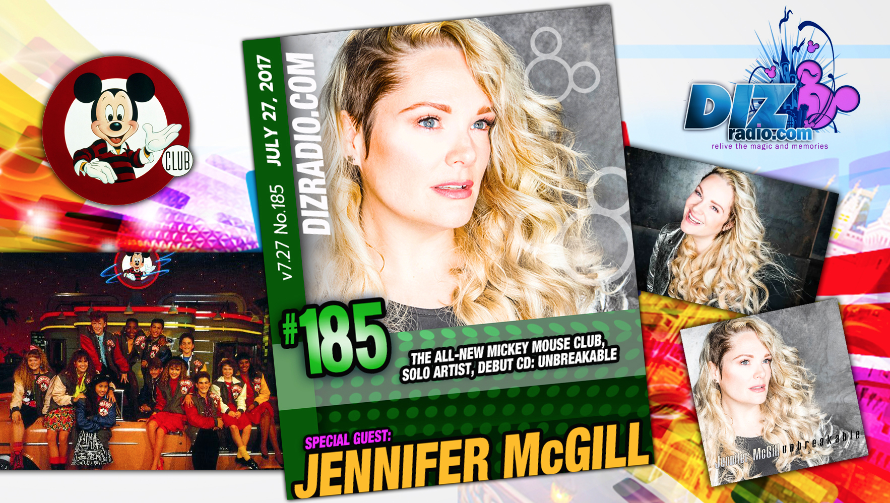Jennifer McGill (Mickey Mouse Club Alum Debuts Solo Album 'Unbreakable'