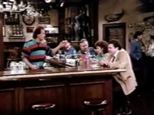 The Cast of Cheers Celebrating the 35th Anniversary of Disneyland in 1990