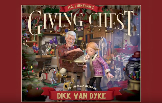 Dick Van Dyke and the Christmas Book: Mr. Finnegan's Giving Chest by Dan Farr